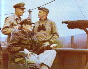 MacArthur in Inchon, 9/15, 1950