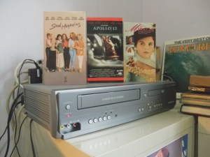 VCR+DVD player combo