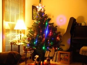 Living Room Christmas tree, 2011
