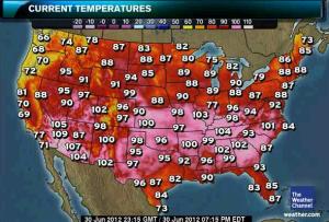 heat wave, 2012
