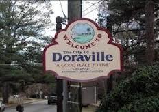 Entering Doraville