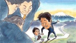 Japan's Abenomics, CREDIT: The Economist