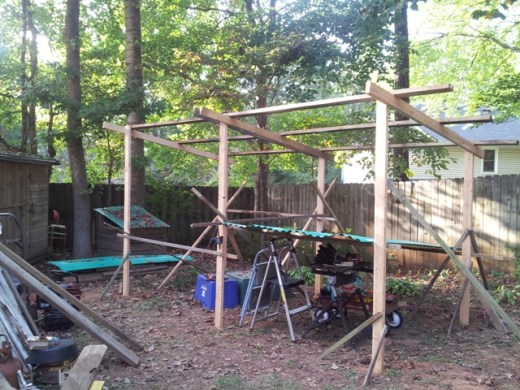 open shed framing 3