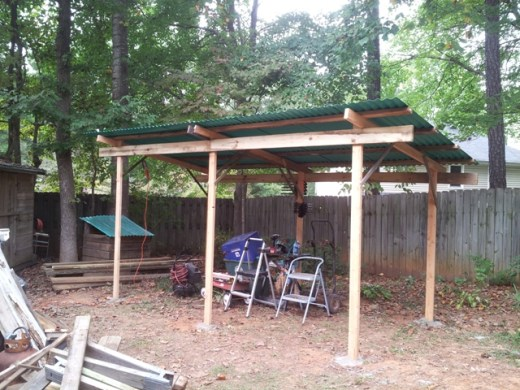 open shed framing 4