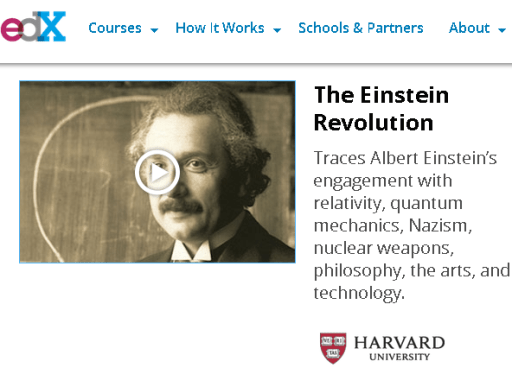 HarvardX, Einstein Revolution