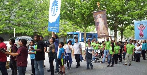 아틀란타 순교자 성당 banner procession