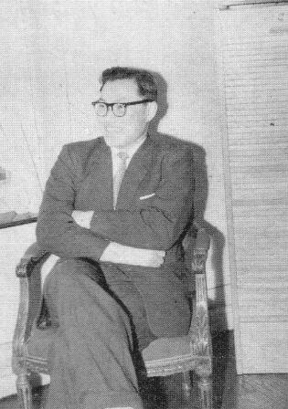 """""""병신"""" 도착 다음 날, 사제 여관에서 (1958)"""