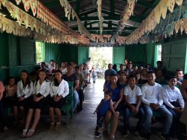Misa en una aldea