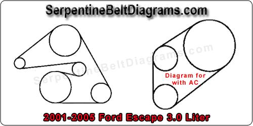 2004 Honda Civic Serpentine Belt Diagram