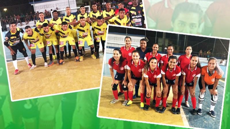 Esport Amarelão (masculino) e Internacional (feminino) consagram-se campeões da Copa Ramalho de Futsal Edição 2018