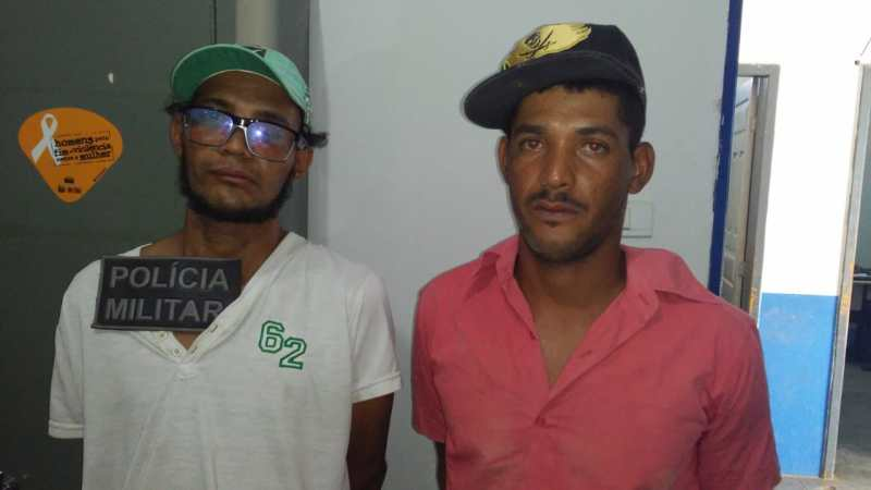 Polícia Militar prende dupla que furtou a Igreja Matriz de Serra do Ramalho