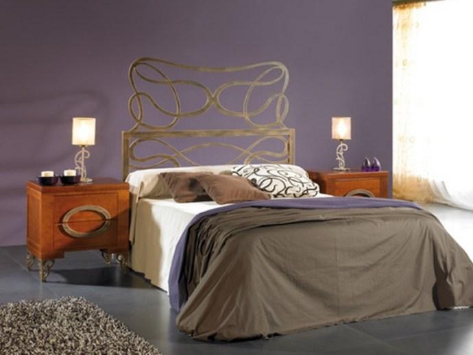 Cabecero cama forja moderna