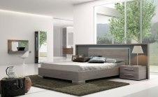 Dormitorio color pizarra