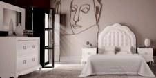 Dormitorio lacado blanco Castimobel