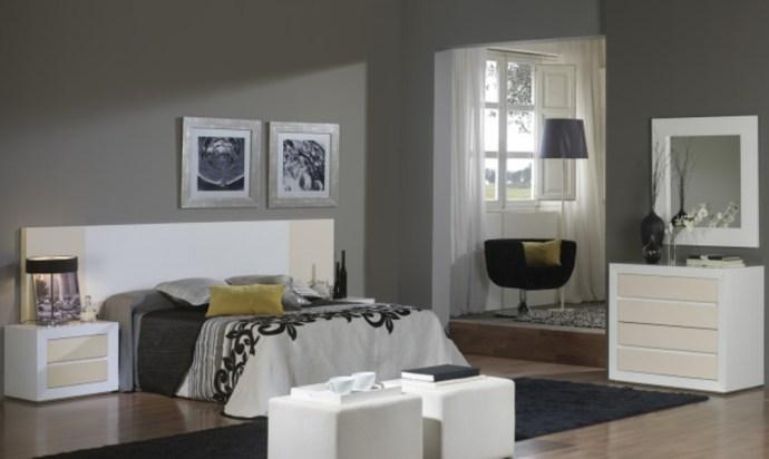 Dormitorio lacado brillo Anvik
