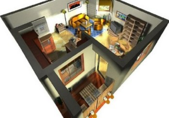 Vista aerea reforma apartamento