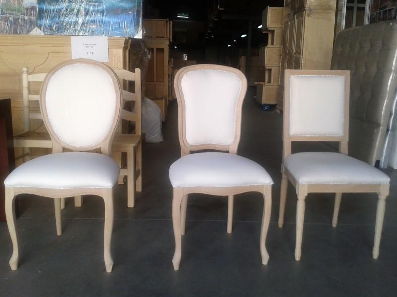 Sillas sillones y butacas reformas y decoraci n de - Tejidos para tapizar sillas ...