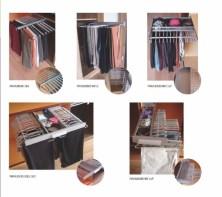 Accesorios para interiores de armario, pantaloneros