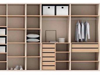 Interiores de armario o vestidores a medida