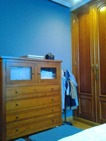 Cambio colorido dormitorio azul