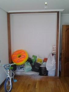 Hueco de obra para armario