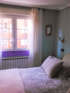 Vista del dormitorio antes