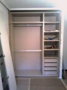 Montaje a medida interior armario