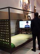 Feria de Zaragoza JJP, Cama almacenaje dormitorio juvenil modular TV, videojuegos, consola