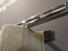 Feria de Zaragoza barras riel oculto para cortinas de onda perfecta