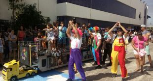 PMES participa de desfile solidário em Vitória