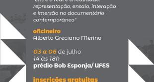 Oficina sobre documentário contemporâneo com inscrições abertas