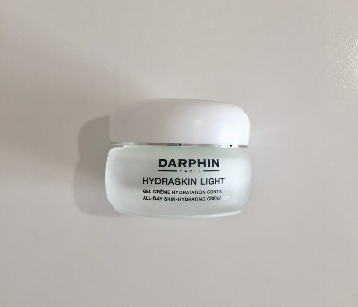 S Review:Darphin Hydraskin Light Gel Cream 迪梵 活水保濕凝膠