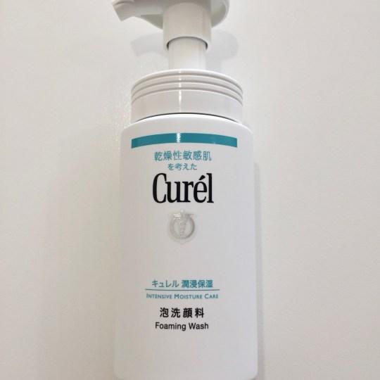 S Review:Curél Foaming Wash 珂潤 潤浸保濕洗顏慕絲
