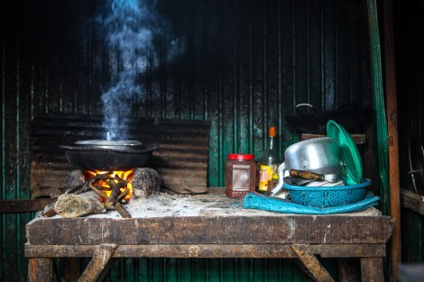 A simple place to cook.