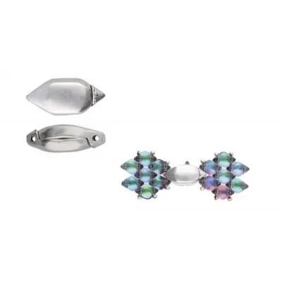 RALAKI - Inchizatoare magnetica speciala pentru GemDuo, placata cu argint antichizat