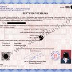Biro Jasa Pengurusan Sertifikat Keahlian Jakarta Pusat