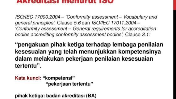 Perbedaan ISO Akreditasi dan Non Akreditasi