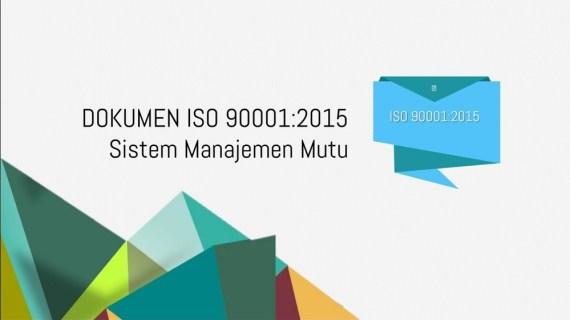 Daftar Dokumen Wajib Dalam Iso 9001:2015