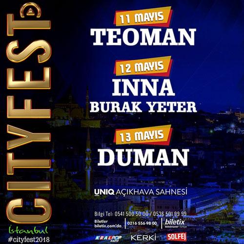 Romanyalı Şarkıcı Inna İstanbul