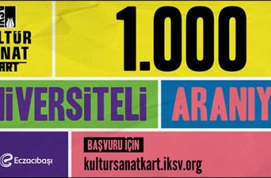 İKSV'den 1000 Üniversiteliye, 250 TL Değerinde 'Kültür Sanat Kart' Hediyesi