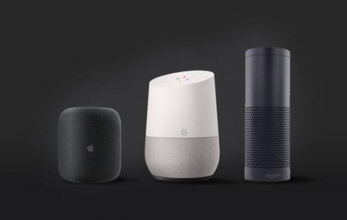 Apple, Amazon, Google
