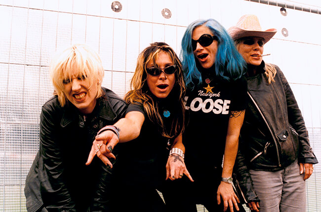 "L7, ""I Came Back to Bitch"""