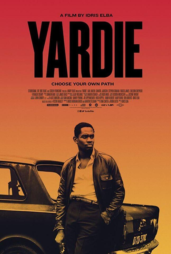 Idris Elba Yardie Movie Poster