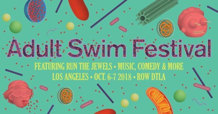 Adult Swim Festival Poster