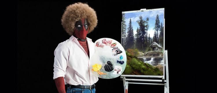 Deadpool 2 Bob Ross