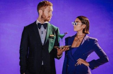 Calvin Harris - Dua Lipa One Kiss Şarkısına Klip