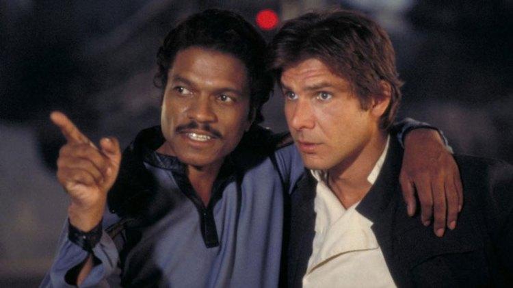 Lando and Han Solo