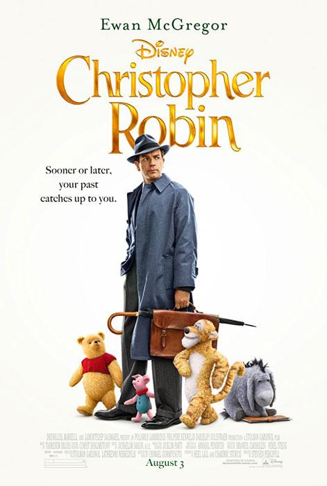 Christopher Robin Ewan McGregor Movie Poster
