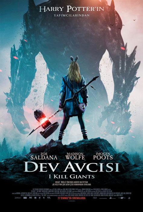 Dev Avcısı (I Kill Giants) Poster
