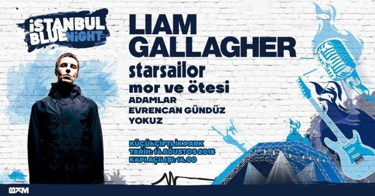 Liam Gallagher İstanbul Konseri Poster